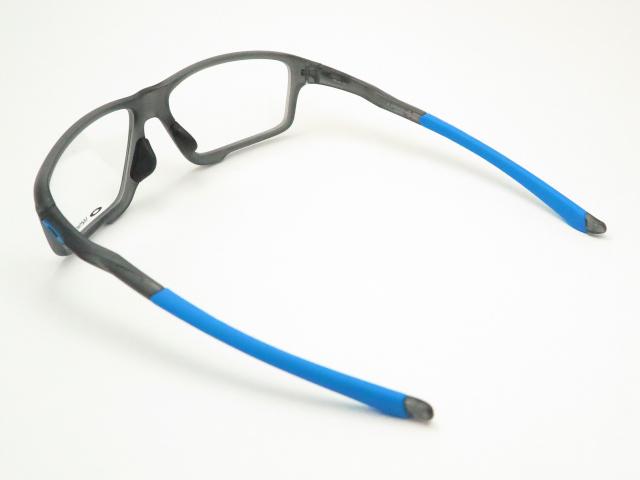 レンズつき・オークリーメガネセットOX8080-0158・・クロスリンクゼロ・CROSSLINK ZERO・ハイカーブ・スポーツ・度付き・度なし・ダテメガネ・伊達眼鏡・