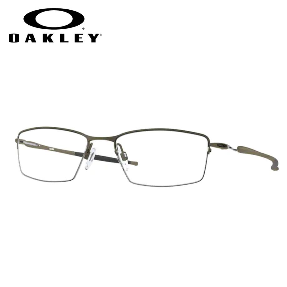 【送料無料】HOYA製レンズつき 【OAKLEY】オークリーメガネセット OX5113-0254 【54サイズ】 リザード LIZARD ナイロール スポーツ 度付き 度なし ダテメガネ 伊達眼鏡 薄型 UVカット 撥水コート