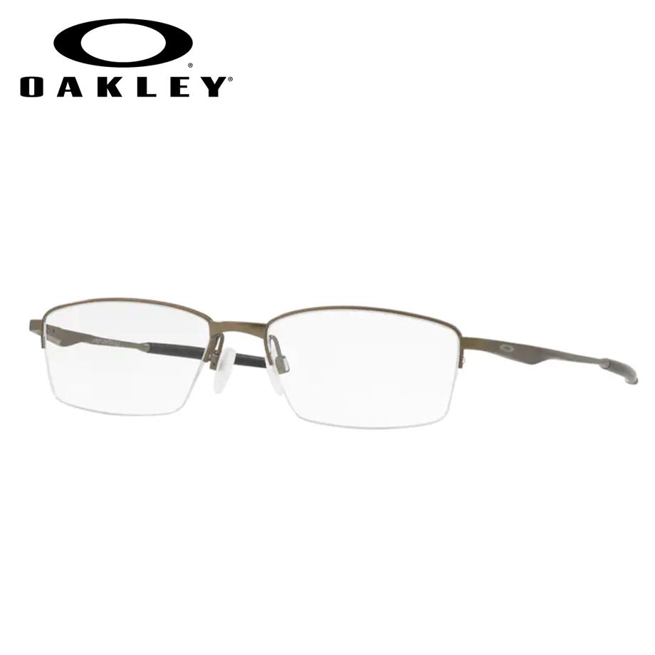【送料無料】HOYA製レンズつき 【OAKLEY】オークリーメガネセット OX5119-0254 【54サイズ】・リミットスイッチ0.5・LimitSwitch0.5 ナイロール スポーツ 度付き 度なし ダテメガネ 伊達眼鏡 薄型 UVカット 撥水コート