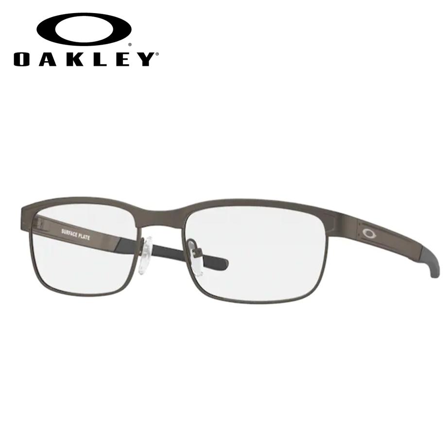 【送料無料】HOYA製レンズつき 【OAKLEY】オークリーメガネセット OX5132-0254 【54サイズ】・サーフェスプレート・SuefacePlate スポーツ 度付き 度なし ダテメガネ 伊達眼鏡 薄型 UVカット 撥水コート