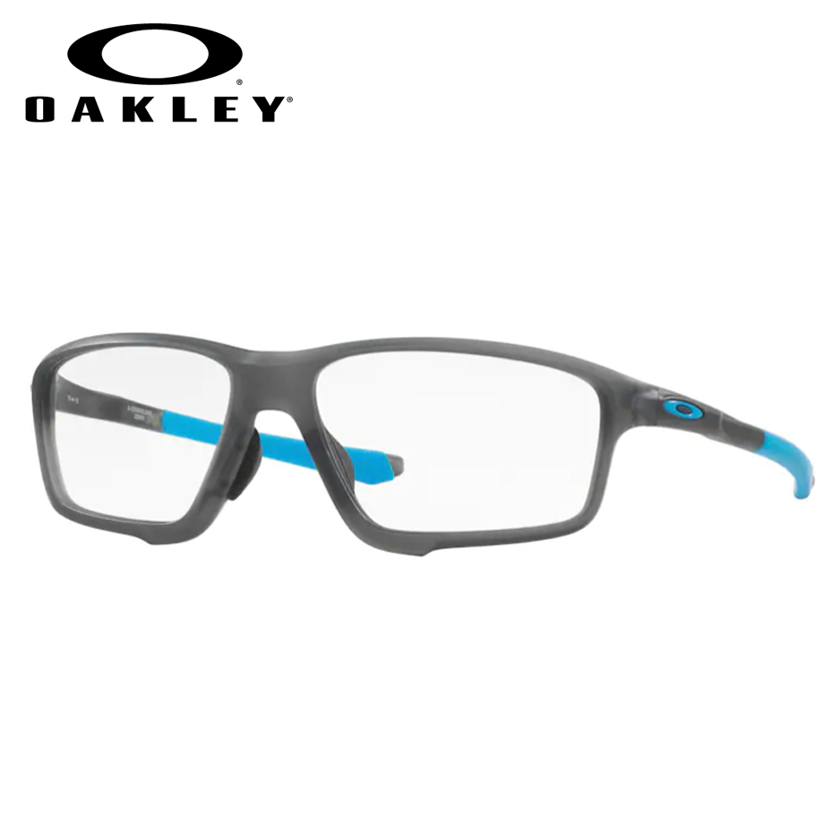 【送料無料】レンズつき 【OAKLEY】オークリーメガネセット OX8080-0158 【58サイズ】・クロスリンクゼロ CROSSLINK ZERO ハイカーブ スポーツ 度付き 度なし ダテメガネ 伊達眼鏡 薄型 UVカット 撥水コート