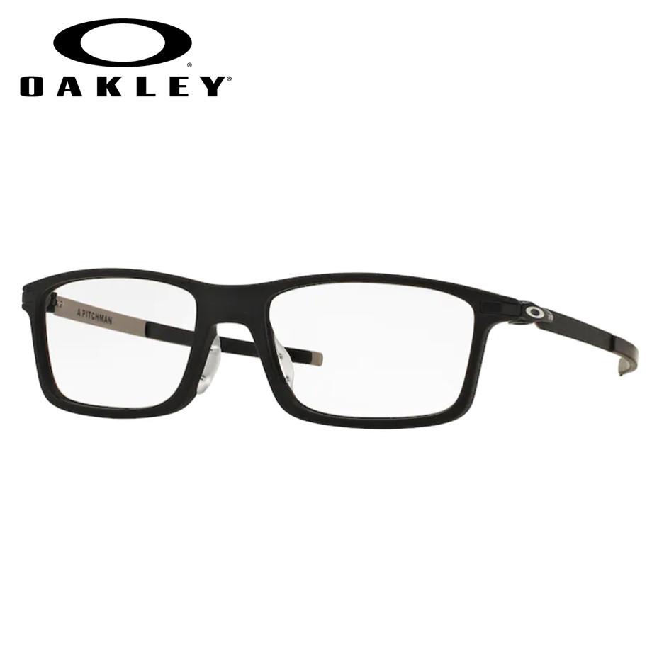 【送料無料】HOYA製レンズつき・【OAKLEY】オークリーメガネセットOX8096 0155・【55サイズ】・ピッチマン・PITCHMAN(A) FIT(アジアンフィット)・スポーツ・度付き・度なし・ダテメガネ・伊達眼鏡・【薄型】【UVカット】【撥水コート】