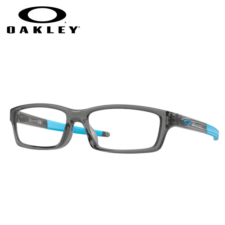 【送料無料】HOYA製レンズつき 【OAKLEY】オークリーメガネセット OX8111-0253 【53サイズ】・クロスリンクユース CROSSLINK YOUTH・ジュニア・子供・学生 スポーツ 度付き 度なし ダテメガネ 薄型 UVカット 撥水コート