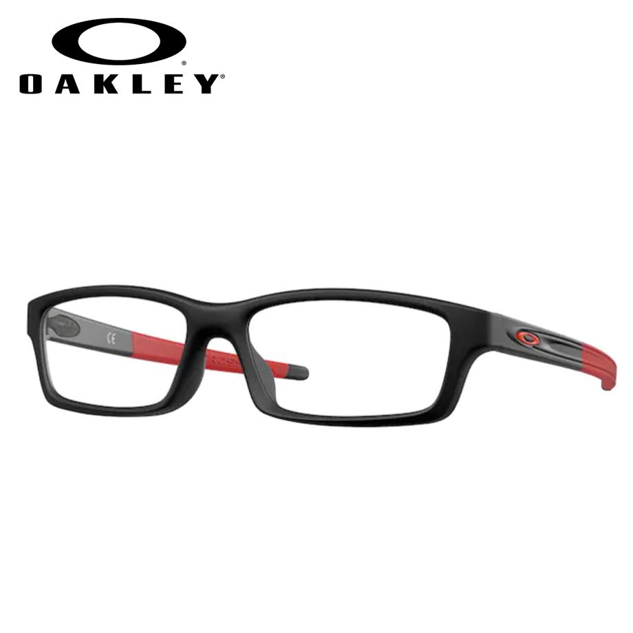 【送料無料】HOYA製レンズつき・【OAKLEY】オークリーメガネセットOX8111-0453・【53サイズ】・クロスリンクユース・CROSSLINK YOUTH・ジュニア・子供・学生・スポーツ・度付き・度なし・ダテメガネ・伊達眼鏡・【薄型】【UVカット】【撥水コート】