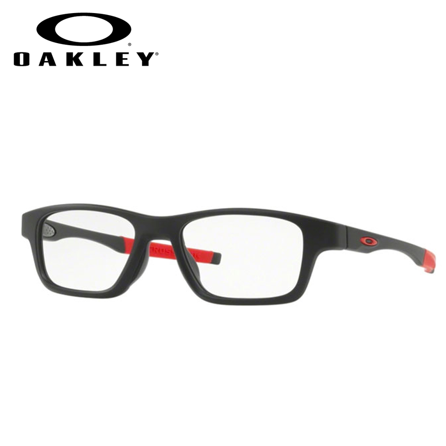 【送料無料】HOYA製レンズつき・【OAKLEY】オークリーメガネセットOX8117-0152・【52サイズ】・クロスリンク ハイパワー・CROSSLINK HIGH POWER・スポーツ・度付き・度なし・ダテメガネ・伊達眼鏡・【薄型】【UVカット】【撥水コート】