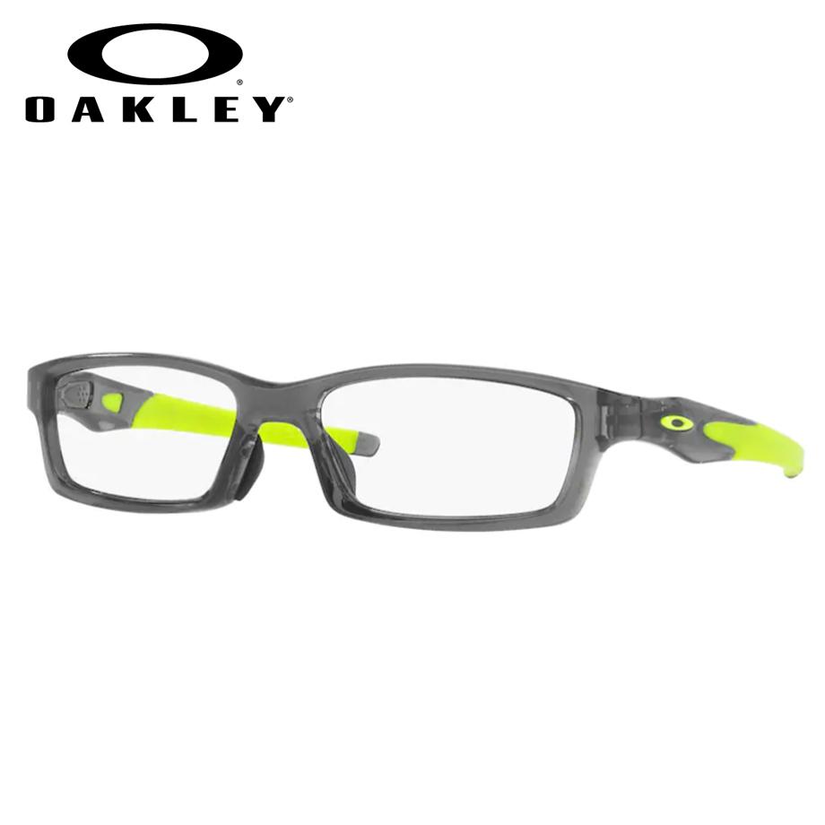 【送料無料】HOYA製レンズつき 【OAKLEY】オークリーメガネセット OX8118-0256 【56サイズ】・クロスリンク CROSSLINK スポーツ 度付き 度なし ダテメガネ 伊達眼鏡 薄型 UVカット 撥水コート