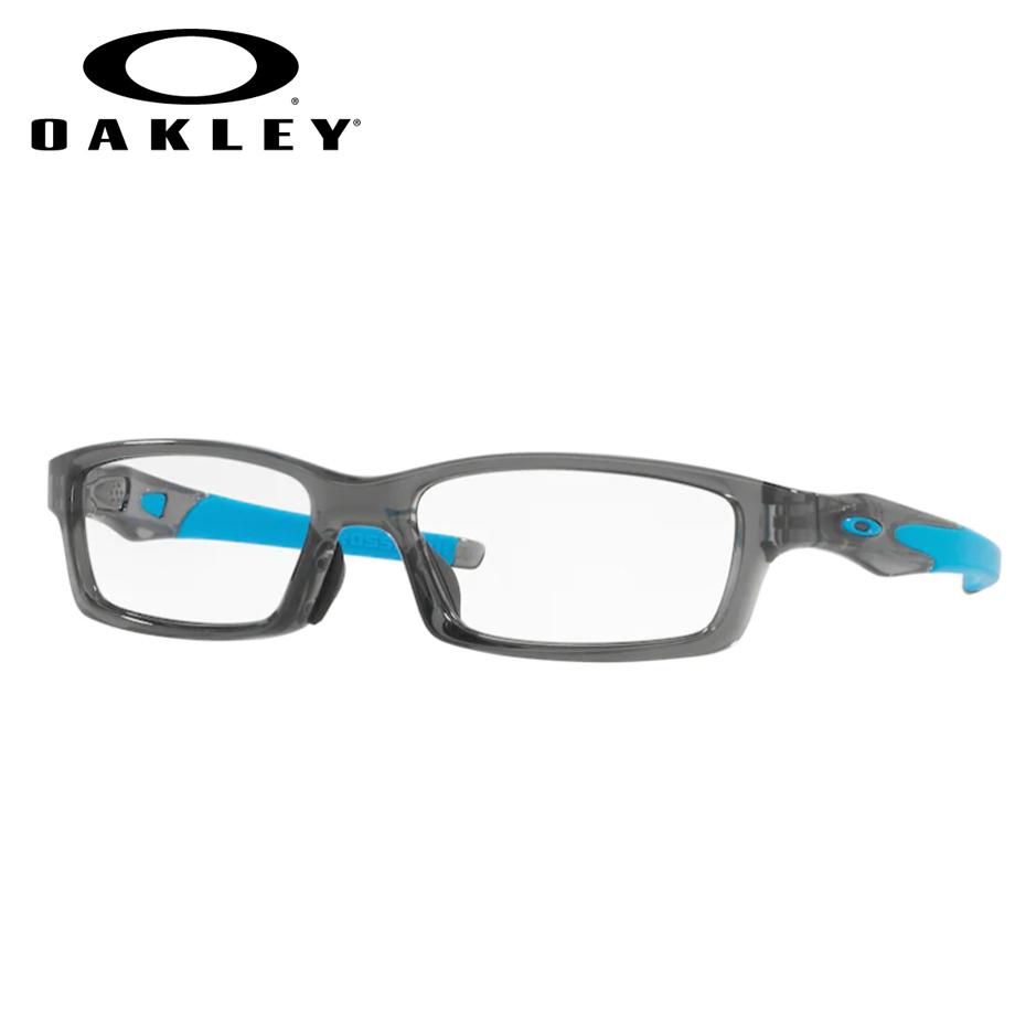 【送料無料】HOYA製レンズつき・【OAKLEY】オークリーメガネセットOX8118-0656・【56サイズ】・クロスリンク・CROSSLINK・スポーツ・度付き・度なし・ダテメガネ・伊達眼鏡・【薄型】【UVカット】【撥水コート】