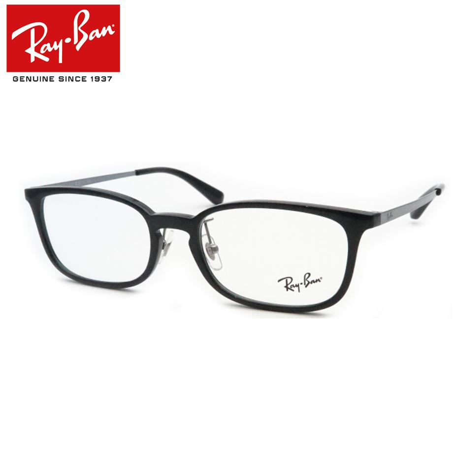送料無料 正規商品販売店 ついに入荷 メーカ保証書付属 レイバンメガネセット RX7182D 5986 ブラック ジャパンコレクション HOYA製レンズつき UVカット 度入り 度付き フレーム Ray-Ban 伊達眼鏡 品質保証 ダテメガネ 度なし