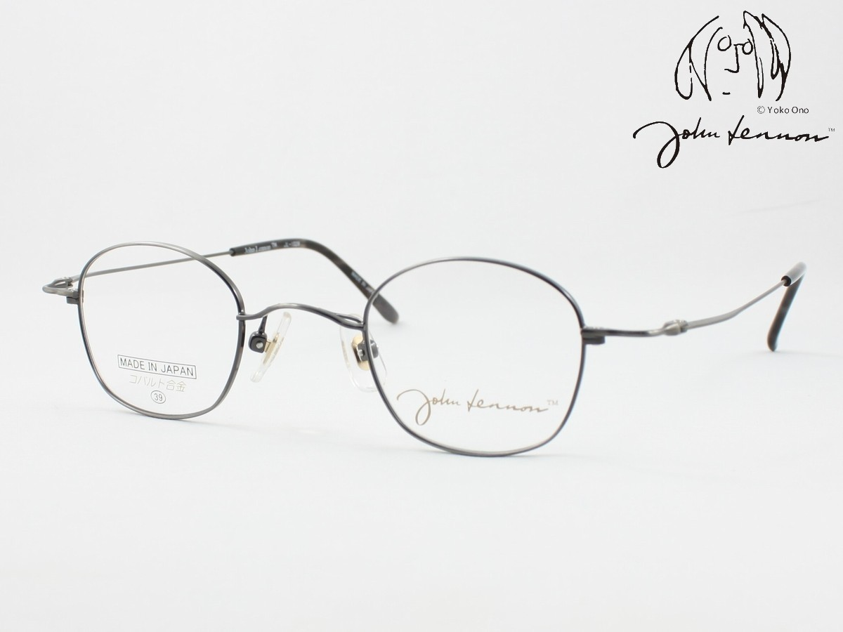 John Lennon ジョンレノン 日本製メガネフレーム JL-1028-4 丸メガネ 評価 ラウンド ボストン 近視 度付き対応 遠視 ウエリントン 老眼 2020新作 ウスカル 強度近視に 遠近両用