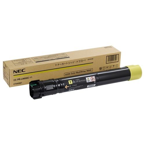 お買い得なおまとめ商品がお勧めです 純正品 新色追加 NEC イエロー 今だけスーパーセール限定 トナーカートリッジ PR-L9600C-11