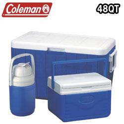 【安心発送】 コールマン クーラーボックス 48Qt 3-PIECE コンボ (Coleman COOLER コールマン 3-PIECE COMBO) コンボ ブルー (Blue) (3000000023), TMIネットショップ:47b5ad54 --- enduro.pl