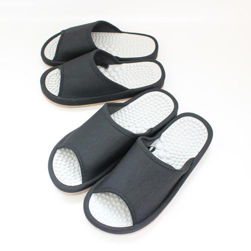 インソールの凸凹が足裏を刺激します 厚底 売店 タイムセール スリッパ コンフォート Lサイズ 健康コンフォートスリッパM ヘルス