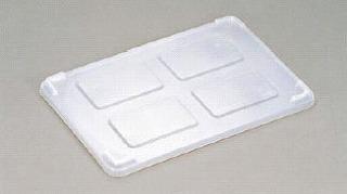 【まとめ買い10個セット品】リス PP透明パンコンテナー 小型用 蓋