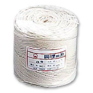 【まとめ買い10個セット品】綿 調理用糸[玉型バインダー巻360g] 10号 【 肉たたき 肉つり関連品 】