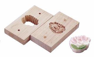 『物相型 和菓子 お菓子作り』手彫物相型[上生菓子用] 手折桜
