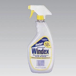 Windex plastic cleaner & Polish