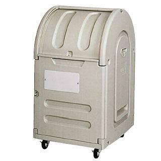 『 ゴミ箱 ゴミステーションボックス 』エコランドステーションボックス #300C キャスター付【 メーカー直送/代金引換決済不可 】
