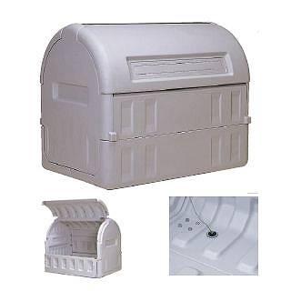 『 ゴミ箱 ゴミステーションボックス 』サンクリーンボックス #800 キャスター無【 メーカー直送/代金引換決済不可 】