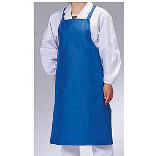 【まとめ買い10個セット品】らくらくドライエプロン [水洗い用] D-1 ブルー 【 前掛け エプロン 】
