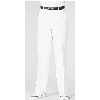 【まとめ買い10個セット品】白ズボン FH-430[前ファスナー] 100cm 【 ズボン ユニフォーム 制服 】