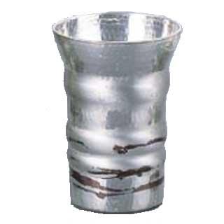 銅錫被 刷毛目フリーカップ SG012 220cc 【 手作りの逸品 】