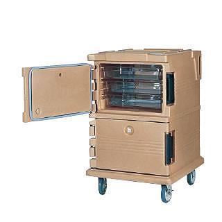 カムカート フードパン[フルサイズ]用 UPC1200コーヒーベージュ 【 業務用 【 フードキャリア 台車 カート 】