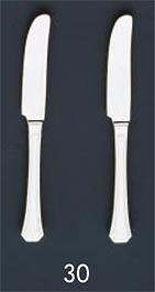 【まとめ買い10個セット品】SA18-8ハーモニー銀仕様 テーブルナイフ[刃無][カトラリー]【 人気カトラリー業務用カトラリーおすすめカトラリー販売 】