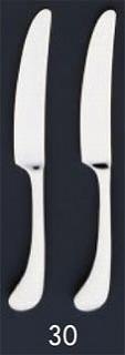 【まとめ買い10個セット品】SA18-8ピカソ銀仕様 テーブルナイフ[刃付][カトラリー]【 人気カトラリー業務用カトラリーおすすめカトラリー販売 】