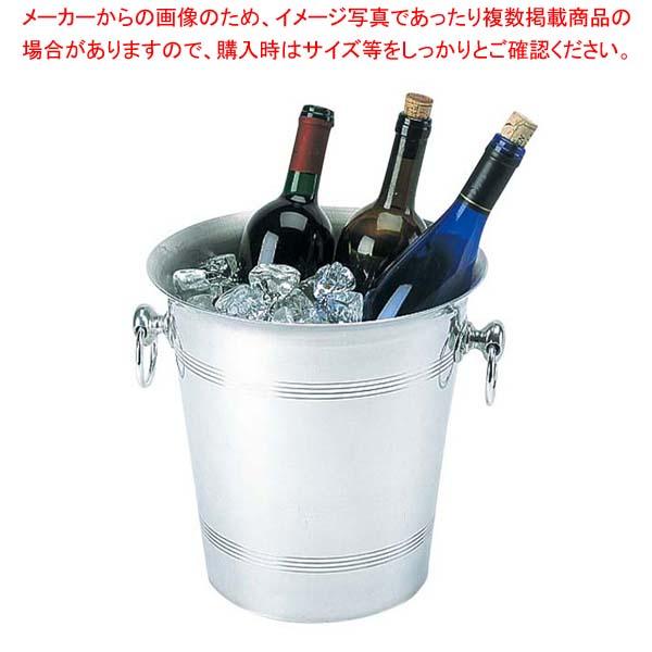 【まとめ買い10個セット品】 アルミ ワインクーラービッグ 7.7L【 ワイン・バー用品 】