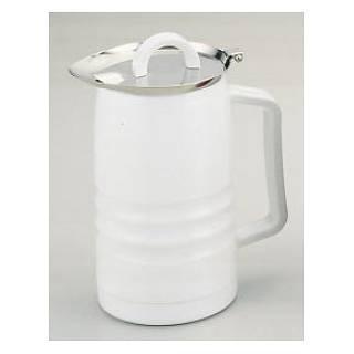 【まとめ買い10個セット品】 SAお湯割ポット 0.5L ホワイト【 バー用品 卓上ポット 】