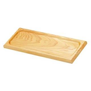【まとめ買い10個セット品】白木 長角皿 W-202 中 【 キッチン小物 カスタートレー 調味料トレー 】