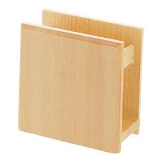 【まとめ買い10個セット品】 木製 ナフキン立 W-703【 ナフキンスタンド 】