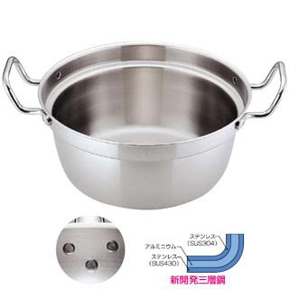 トリノ 和鍋 33cm 【 業務用 【 円付鍋 料理鍋 調理なべ 】