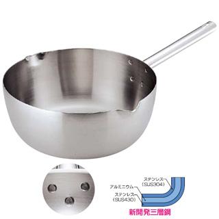 『 雪平鍋 』トリノ 雪平鍋 21cm