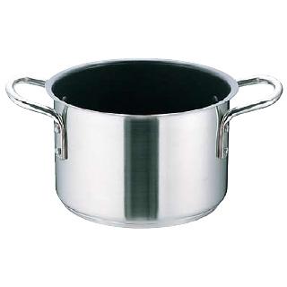 『 半寸胴鍋 』ムラノ インダクション テフロンセレクト 半寸胴鍋[蓋無]36cm