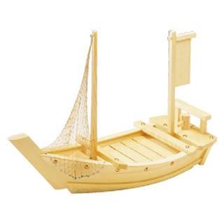 白木 料理舟 2.5尺 【 業務用 【 和食 懐石 】