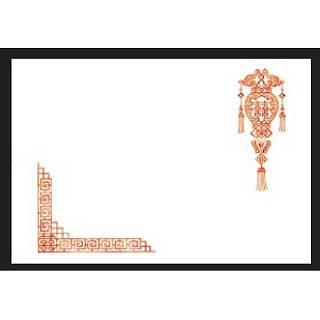 【まとめ買い10個セット品】 洋風・中華テーブルマット(100枚入) 喜花灯 No.517
