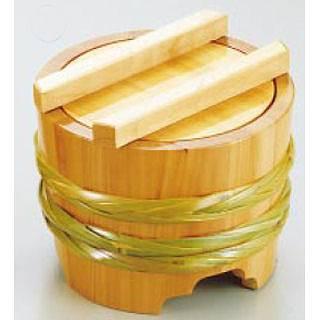 サワラ 釜揚桶 [小] 【 業務用 【 料理演出用品 そば うどん用品 盛桶 】