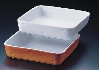 ロイヤル 長角深型グラタン皿 カラー PC520-40-10 【 業務用 【 ROYALE オーブンウエア 】