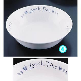 【まとめ買い10個セット品】キッズメイト ランチタイムブルー 深皿 24190-LB