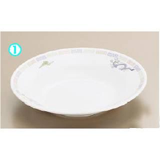 メラミン「雷門竜」M-40-R スープ皿