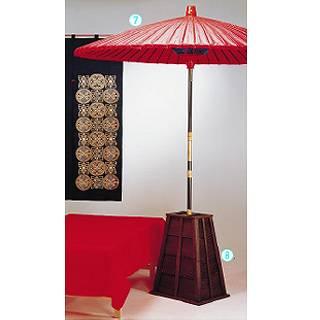 木製 傘立 古代色[25.30号専用] 【 業務用 【 店舗備品 インテリア装飾品 】