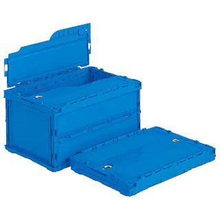 【まとめ買い10個セット品】 ペタンコ フタ付き ペタンコC-40B 青
