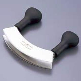 WT18-8ミンシングナイフ 2枚刃 4734 15cm 【 業務用 【 野菜刻み用 包丁 カッター スライサー 】