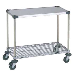 ワーキングテーブル 1型 NWT1E-S 【 メーカー直送/代金引換決済不可 】 【 業務用 【 テーブル 】