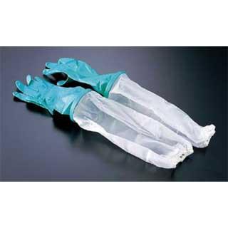 【まとめ買い10個セット品】 ダンロップ 腕カバー付 中厚手手袋 M【 炊事用手袋 】
