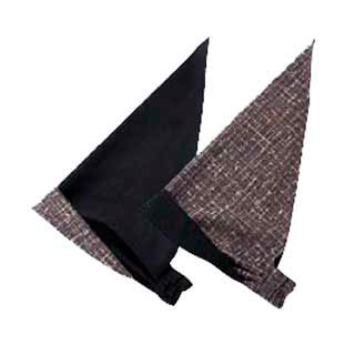 【まとめ買い10個セット品】リバーシブル バンダナ帽 JA-5253 [消炭色] 【 コック帽子 ユニフォーム 制服 】
