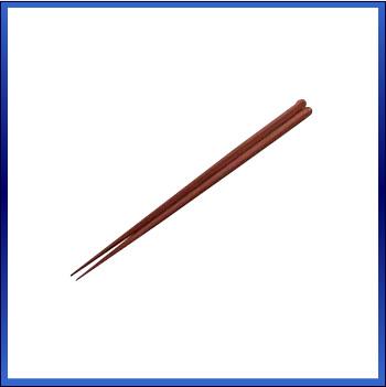 【まとめ買い10個セット品】PBT 六角箸 [10膳入] 90030140 ブラウン 【 キッチン小物 箸 給食 飲食店向け 】