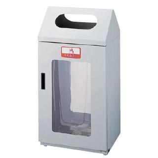 【 ダストボックス 屋外 】 リサイクルボックス[2面窓付き] G-1 【 メーカー直送/代引不可