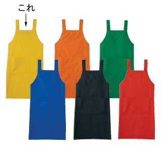 【まとめ買い10個セット品】【 エプロン A-1764 L [イエロー] 】 【 厨房用品 調理器具 料理道具 小物 作業 】